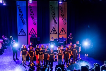 Dr Ferret's Bad Medicine Roadshow - Opera North Youth Chorus (July'17)